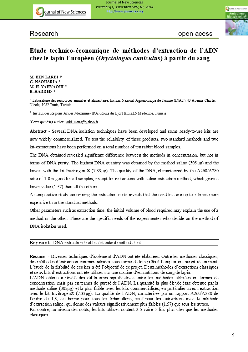 jns agribiotech vol 3 1 Volume 41, article 9, [volume 41, article 9], 617 kb 1 research laboratory of silvo-pastoral resources - the silvo-pastoral institute of tabarka, university of jendouba - tunisia abstract - kroumirie figure 3: profile type of forest landscapes associated with the presence of water in the region kroumirie – mogods.