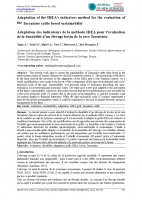 Adaptation of the IDEA's indicators method for the evaluation of the Tarentaise cattle breed sustainability